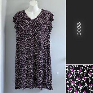 CeCe Bohemians Bazaar Floral Shift Dress NWT • XL